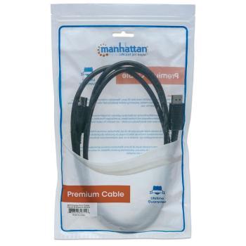CABLE MANHATTAN DISPLAYPORT M-M BLINDADO 2M 307116