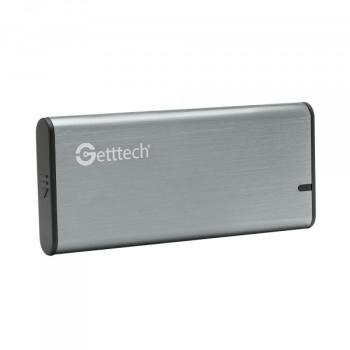 ENCLOSURE DISCO DURO GETTTECH M.2 SSD USB 3.1 GCE-M231-01