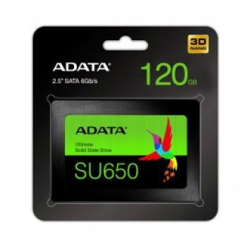 """UNIDAD SSD ADATA SU650 120GB SATA III 2.5"""" ASU650SS-120GT-R"""