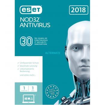 ANTIVIRUS NOD32 1 USR 1AÑO 2018