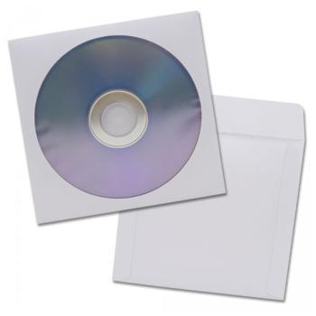 SOBRES BLANCOS P/CD`S, DVD`S