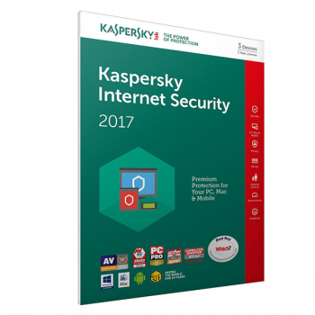 KASPERSKY INTERNET SECURITY 2017 3 + USER 1YR KL194