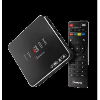 TV BOX BLACKPCS 4K 3D WIFI RED CONTROL NEGRO EO104K-BL