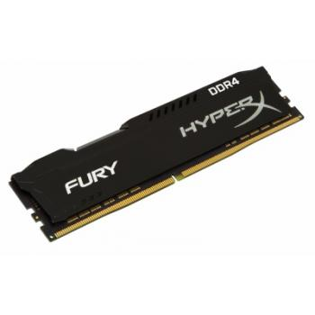 MEMORIA DDR4 KINGSTON HYPERX FURY BLACK 8GB 2400 MHZ HX424C15FB2/8