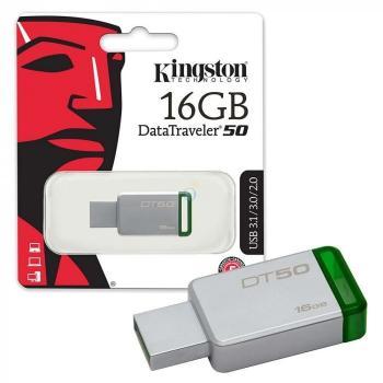 MEMORIA FLASH KINGSTON 16GB USB 3.0 DT50/16GB