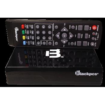 DECODIFICADOR TV BLACKPCS PLASTICO HDMI USB COAXIAL E020PLAST-BL