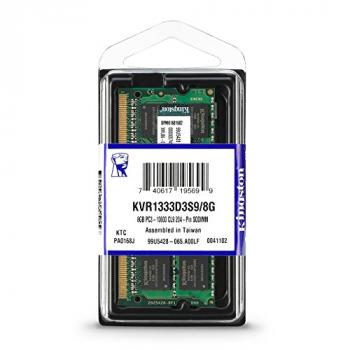 MEMORIA SODIMM DDR3 KINGSTON 8GB KVR1333D3S9/8GB