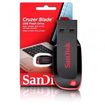 MEMORIA FLASH SANDISK CRUZER BLADE 8GB SDCZ50-008G-B35
