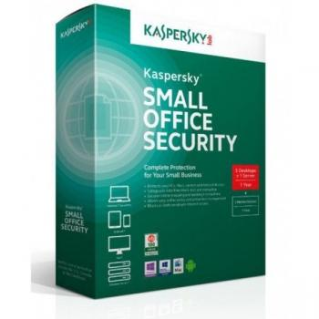 KASPERSKY SMALL OFFICE SECURITY FOR BUSINESS 1FS; 5MD 1YR KL4533ZBEFS