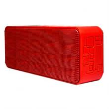 Bocinas Vorago Bluetooth Manos Libres Color Rojo
