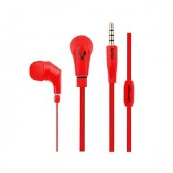 Audífonos Vorago Color Rojo