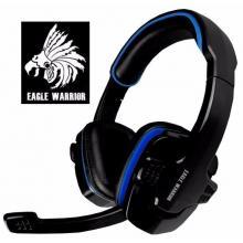 Audífonos Eagle Warrior Color Negro / Azul
