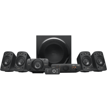 Bocinas Logitech  Z906 5.1 Surround Sound Speaker System