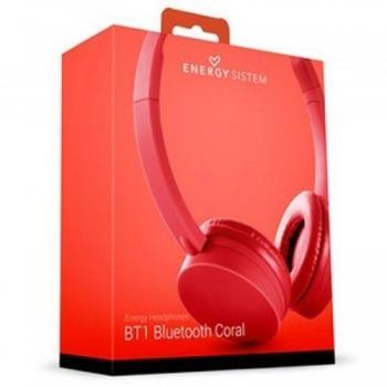 Audífonos Acteck Energy System Bluetooth 3.0 Coral