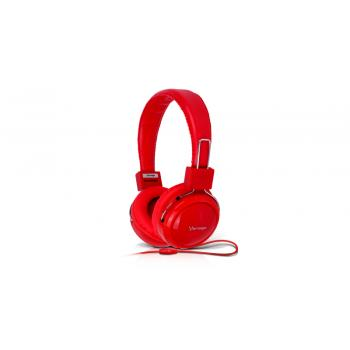 Audífonos Vorago Alta Fidelidad Color Rojo