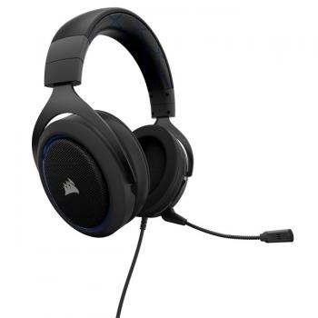 HEADSET CORSAIR HS50 STEREO GAMING BLACK 3.5 MM