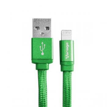 CABLE USB-APPLE VERDE CAB-119 VORAGO