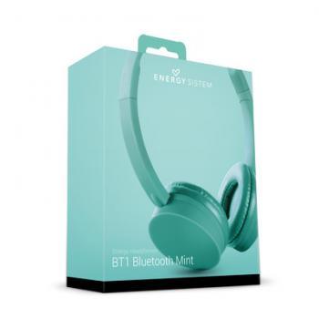 Audífonos Acteck Energy System Bluetooth 3.0 Menta