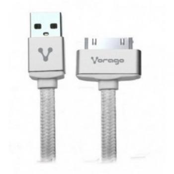 CABLE USB A APPLE DOCK CAB-118 BLANCO VORAGO