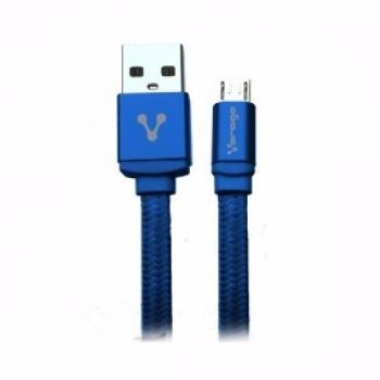 CABLE USB A MICRO CAB-113 AZUL VORAGO