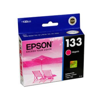 Cartucho de Tinta Epson 133 Color Magenta