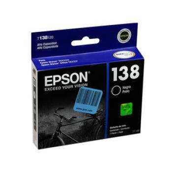 Cartucho de Tinta Epson 138 Color Negro