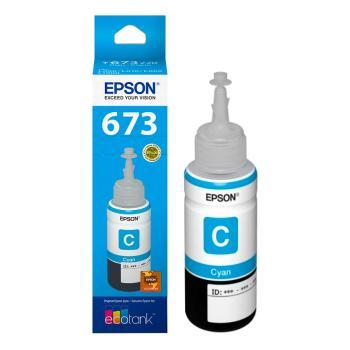 Botella Con Tinta Epson Color Cyan T673220C