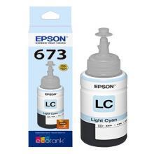 Botella Con Tinta Epson Color Cian Claro T673520CL