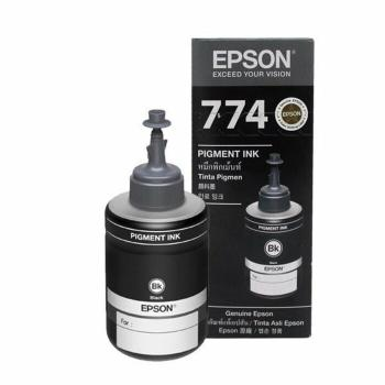 Botella Con Tinta Pigmentada Epson Color Negro T7741BK