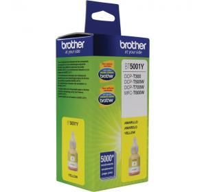 Botella de Tinta Brother Color Amarillo  BT5001Y