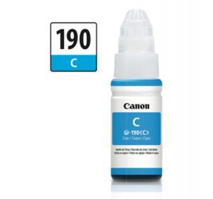 Botella de Tinta Canon Color Cyan GI-190C