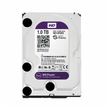 DISCO DURO INTERNO WD 1TB 3.5 WD10PURX SATA 3 PURPLE