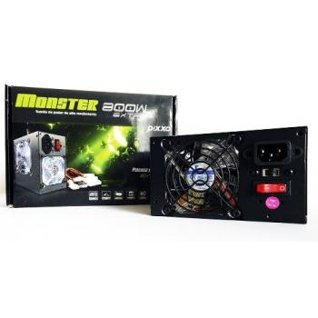 FUENTE DE PODER PIXXO MONSTER PW-800W 24 PINES