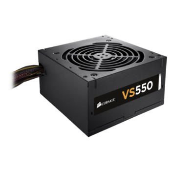 FUENTE DE PODER CORSAIR VS550 550W 80 PLUS WHITE CP-9020171-NA