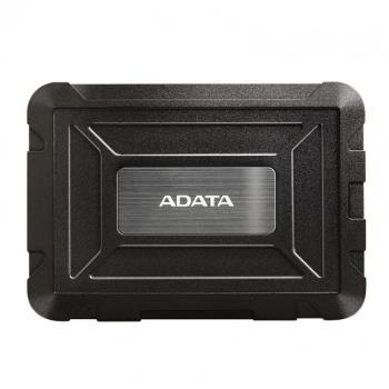 """ENCLOSURE ADATA ANTIGOLPE NEGRO 2.5"""" USB AED600-U31-CBK"""