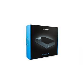 ENCLOSURE VORAGO HDD-300 NEGRO DD 2,5 Y 3,5 USB 2,0 SATA
