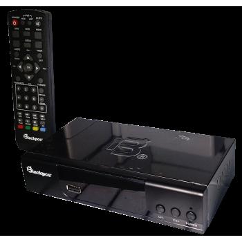DECODIFICADOR TV BLACKPCS ALUMINIO HDMI USB COAXIAL E010ALUM-BL