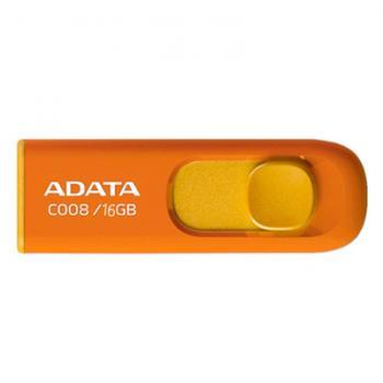 MEMORIA ADATA 16GB NARANJA AC008-16G-ROR