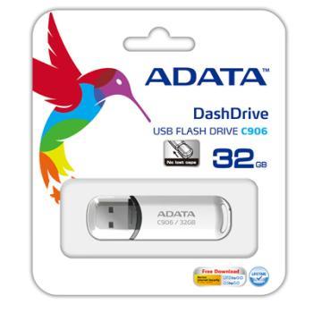 MEMORIA ADATA USB 32GB BLANCO AC906-32G-RWH