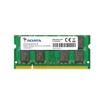 MEMORIA DDR2 800 2GB SO-DIMM AD2S800B2G6-S ADATA