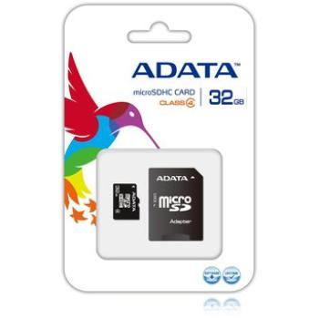 MEMORIA MICRO AUSDH32GCL4-RA1 SDHC ADATA 32GB CON ADAPTADOR