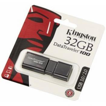 MEMORIA KINGSTON 32 GB USB 3.0/2.0 DT100G3