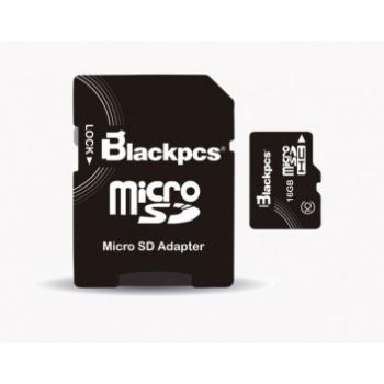 MEMORIA MICRO SDHC BLACKPCS 16GB MM10101-16