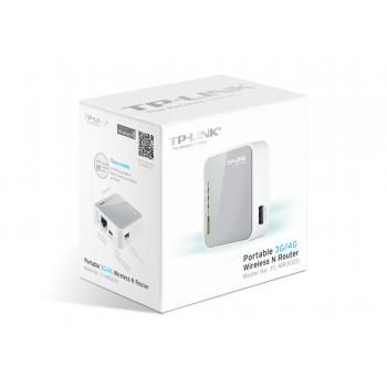 ROUTER INALAMBRICO TP-LINK-N150-PORTATIL 3G-USB BAM-TL-MR3020 24M