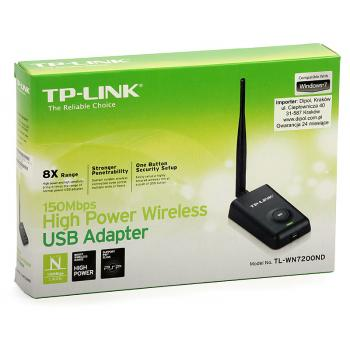 Adaptador USB Inalámbrico TP LINK TL-WN7200ND