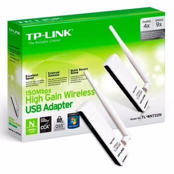 ADAPTADOR USB INALAMBRICO TL-WN722N TP-LINK