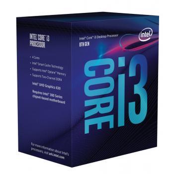 CPU INTEL CORE i3 8100 4 NUCLEOS 3.6 GHz 6MB 65W SOC1151 BXC80684I38100